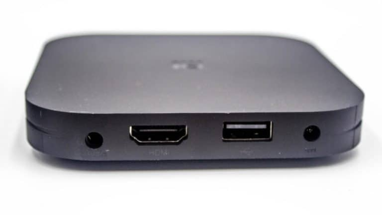 Connectique Xiaomi Mi-Box S