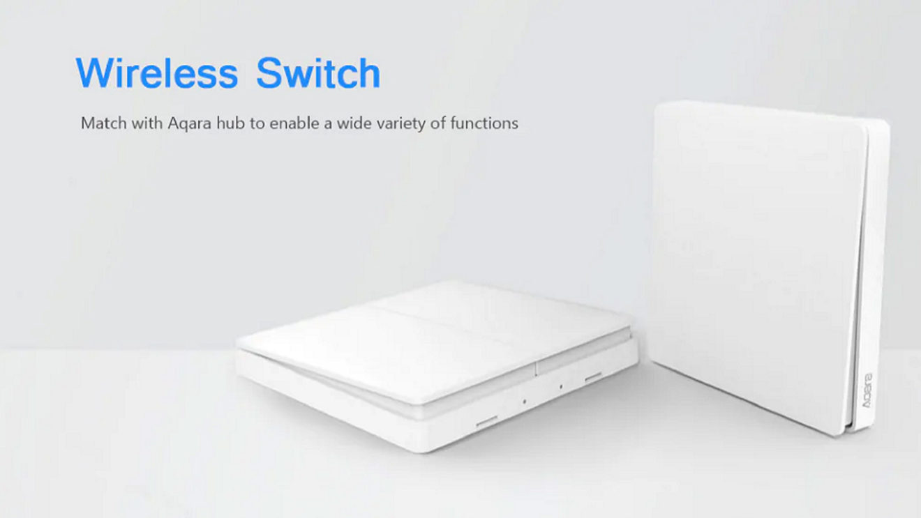 Wall Switch Aqara Xiaomi à partir de 13€