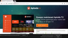 Installer Aptoide TV